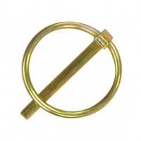 Шплинт с кольцом DIN 11023, цинк желтый